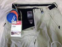 Bonfire Ripstop ski/snowboard pants exceptional pair New tagged sz xl-xxl