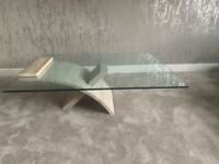 Marble Tables and Storage