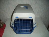 Plastic Pet Carrier size H 31 x w 31 x d 43 cm
