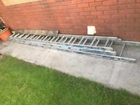 Set of triple ladders