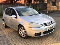 2006 VOLKSWAGEN GOLF 2.0 GT TDI DIESEL MANUAL 5 DOOR HATCHBACK SILVER MOT GOOD DRIVE NOT FOCUS ASTRA