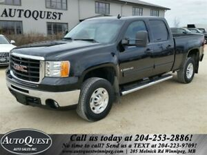 2009 GMC SIERRA 2500HD SLT - 6L GAS, LEATHER, POWER SUNROOF!