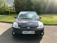 FORD FIESTA DIESEL 5DOOR ROAD TAX ONLY £30 PER YEAR WARRANTED MILES HPI CLEAR EXCELLENT CONDITION