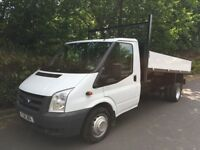 2011 ford transit tipper breaking