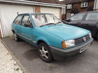 wv polo match coupe mk2 1994 mot till sep low millage