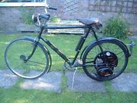 Cyclemaster - Cyclemotor in BSA cycle