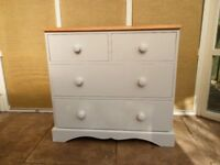 2 over 2 Pine Chest of Drawers