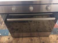 USED - INDESIT DIM51KAIX Electric Oven - Stainless Steel