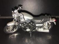 Model diecast Yamaha bike