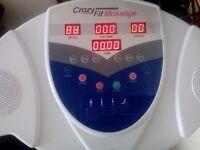 Crazy fit exercise machine