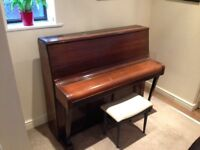 Piano - Free to collect ASAP, a few scratches but characterful! Stool included :-)