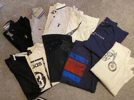 Boys T-shirt bundle x10 size 9-11 Nike Ralph Lauren Next