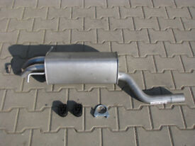 Mercedes Kompressor exhaust nver fitted Code F021