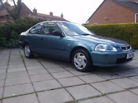 1997 Honda Civic Coupe **only 26k miles * 12 month mot * no rust**