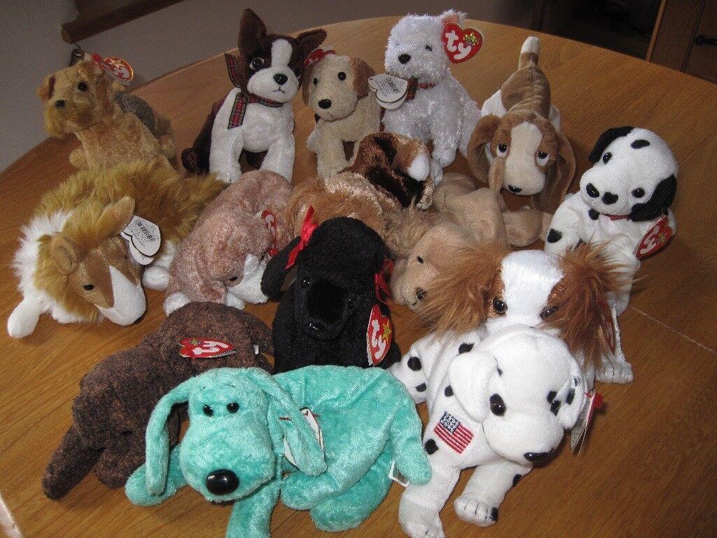 Ty Beanie Baby Dogs