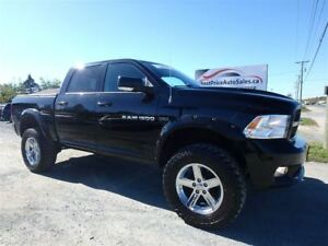 2012 Ram 1500 SPORT! JACKED! LIFTED! HEMI! CERTIFIED!