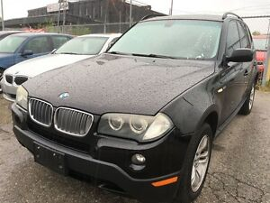 2008 BMW X3 3.0i,panoramic roof,alloy rims,heated seats,mint c