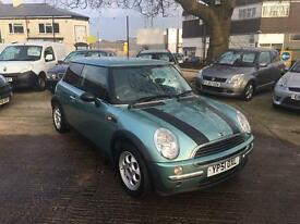 Mini One 1.6 3-door hatch 2002 *immaculate condition*
