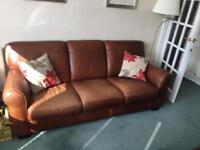 Leather Sofa ( 3 seater)
