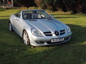 2006 Mercedes SLK280 3L V6 Convertible - Silver