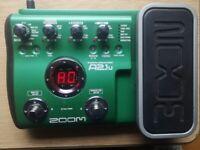 Acoustic Guitar Effects - Zoom A2.1u