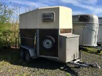 GREAT CHANCE: horse trailer, horsebox ready to use!