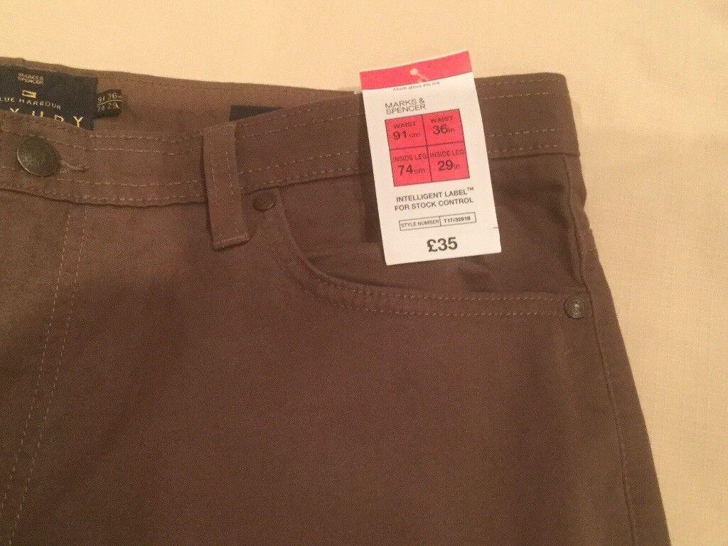 Marks & Spencer's Men's Trousers - Brand New