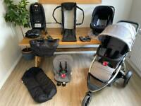 Phil and teds pushchair buggy bundle single double