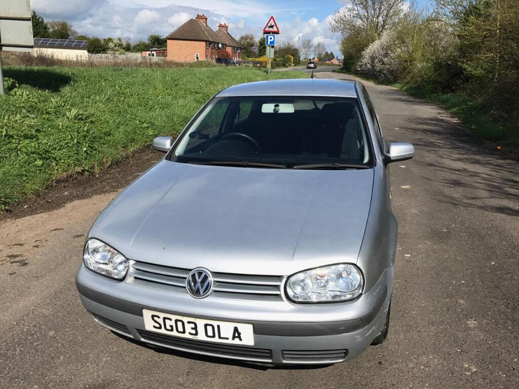 VW Golf Mk4 - 2003 - 1.4 E 3dr - Silver