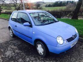 2002 02 Volkswagen lupo 1.0 long mot only £350