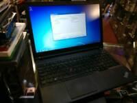 Lenovo Thinkpad W540 Intel i7-4800MQ 8GB RAM 128GB SSD NVidia Quatro K2100 GPU Windows 7 Laptop