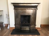 Gas fire - with coal effect
