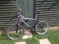 claud butler mountain bike-everything works great-rear disc & xt gears(not speacialized or trek) mtb