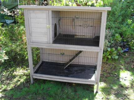 Large Double Story Indoor Rabbit Cage