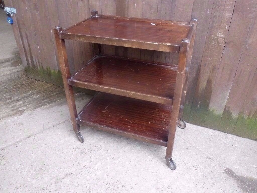Wooden Hostess Trolley Delivery Available £10