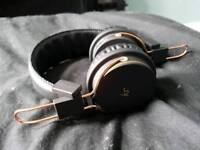 KitSound Manhattan Bluetooth Headphones Over Ear