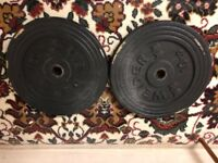 Weights metal 60kg