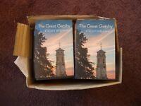 Box of 50 The Great Gatsby Books by F. Scott Fitzgerald brand new