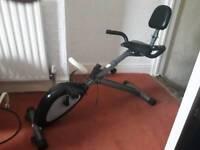 Recumbent Folding Exercise Bike