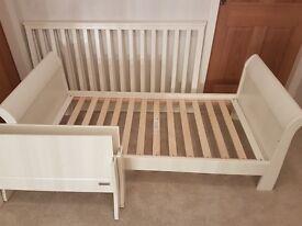 Mamas & Papas Mia cot / toddler bed, convertable