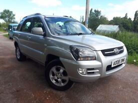 2008 kia sportage xe 2.0 crdi 4wd.1 owner from new. New cambelt
