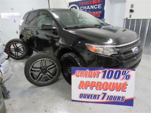 2014 Ford Edge SEL PLUS MAGS 20 POUCES TOIT PANO