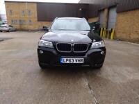 BMW X3 Xdrive20d SE (black) 2014