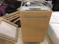 Bosch integrated slimline dishwasher