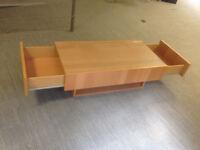 coffee table Ikea ramvik with 2 drawers