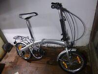 Folding bike from Bicycles4u com