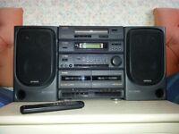 Aiwa SX-N220 Hi-Fi Stereo System with Remote Control