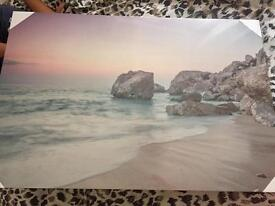 New in packaging Wilko beach canvas