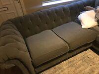 Next 5 seater l shape sofa