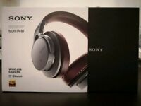 Sony headphones MDR-1AS BT Hi-res Prestige - bluetooth wireless touch nfc - lossless quality LDAC